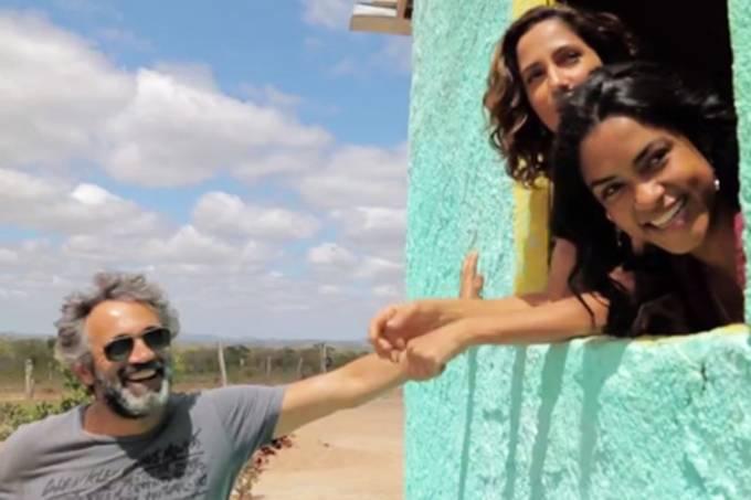 Imagens inéditas de Domingos Montagner nas gravações de 'Velho Chico'