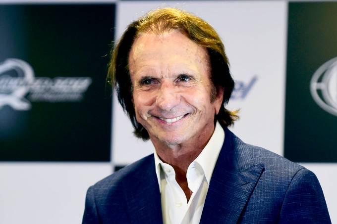 O ex-piloto de Fórmula 1, Emerson Fittipaldi