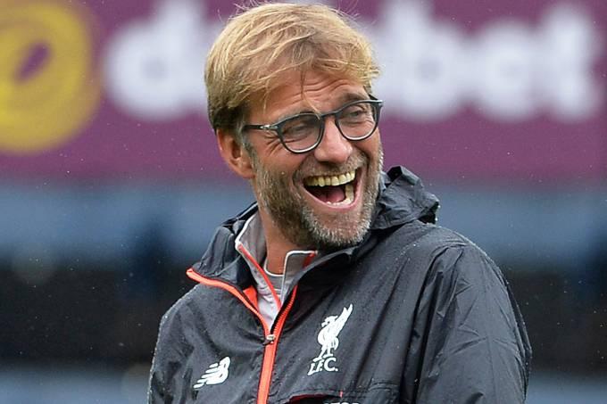 O técnico do Liverpool, Jurgen Klopp