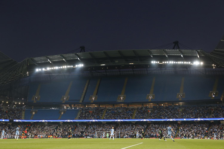 Estádio Etihad, Manchester City contra Borussia Monchengladbach pela fase de grupo da UEFA - Liga dos Campeões