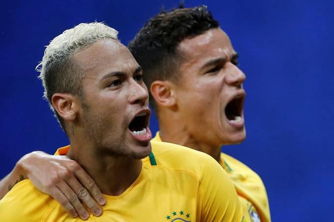 Philippe Coutinho e Neymar