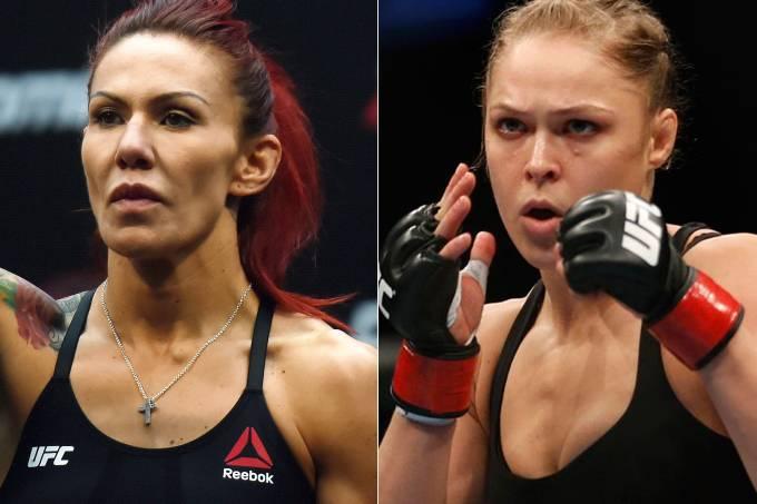 Cris Cyborg e Ronda Rousey