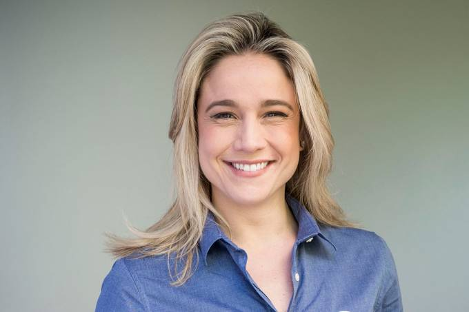 A apresentadora Fernanda Gentil