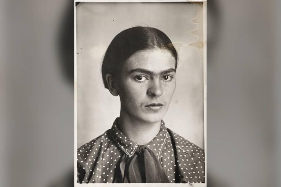 Frida Kahlo, por Guillermo Kahlo, em 1926