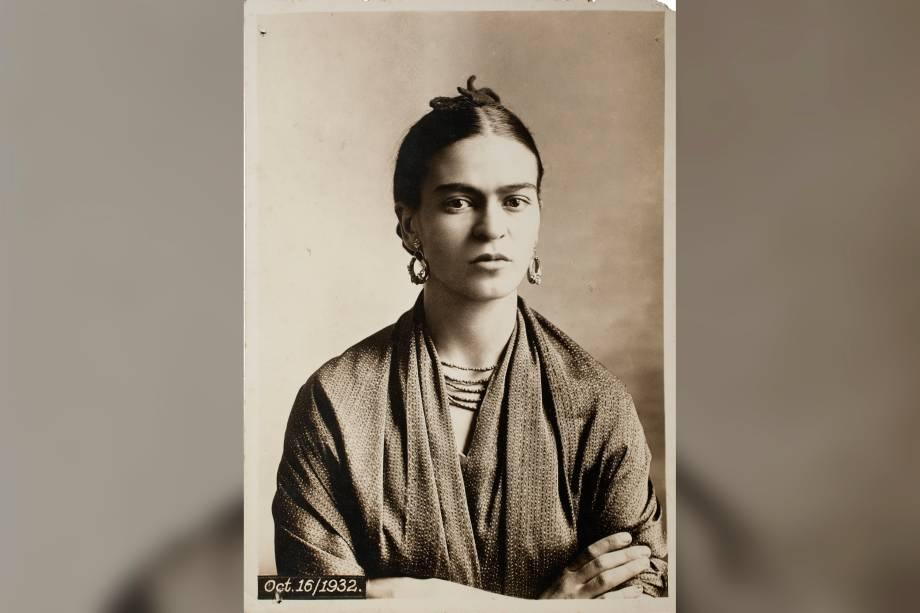 Frida Kahlo, por Guillermo Kahlo, em 1932