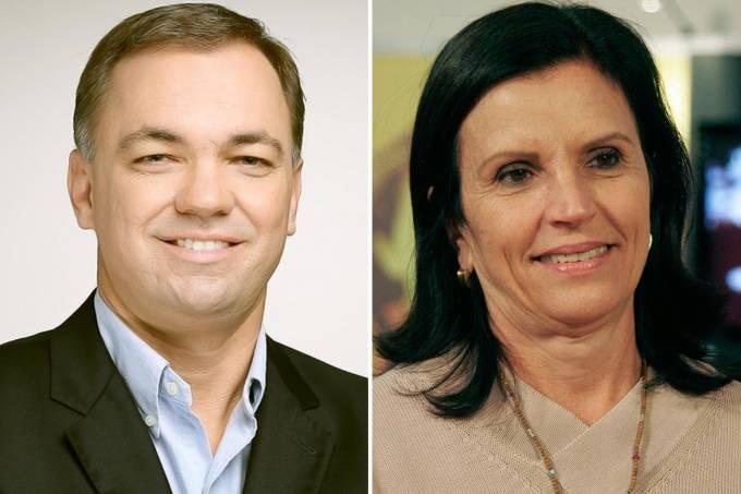 Eleições 2016 – Florianópolis: Gean Loureiro (PSDB) e Angela Amin (PP)