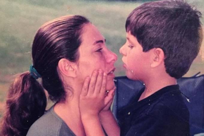 Atriz Cissa Guimarães com o filho, Rafael Mascarenhas