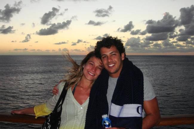 Fernanda Gentil e o empresário Matheus Braga. Casal se separou em abril de 2016, após cinco anos juntos, entre rumores de traição