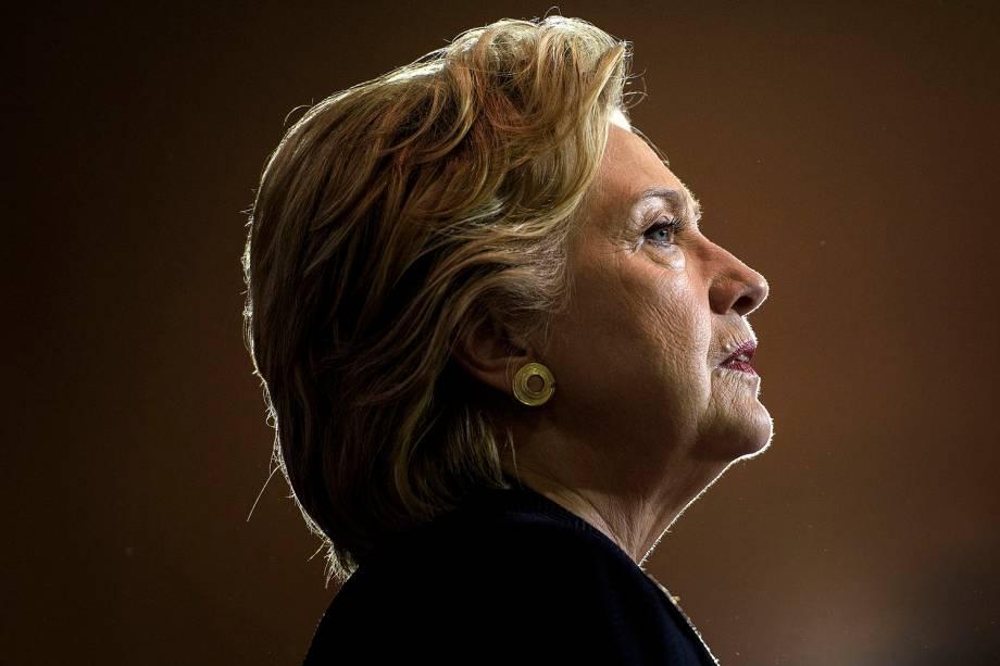 A candidata do partido Democrata à presidência dos EUA Hillary Clinton - 27-09-2016
