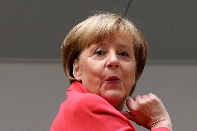 Imagens do dia – Angela Merkel