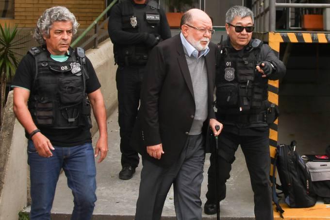 Léo Pinheiro é preso pela Polícia Federal em Curitiba