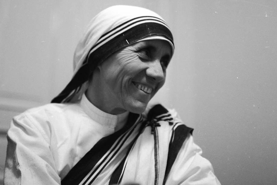 Madre Teresa de Calcutá ganha o Nobel da Paz de 1979
