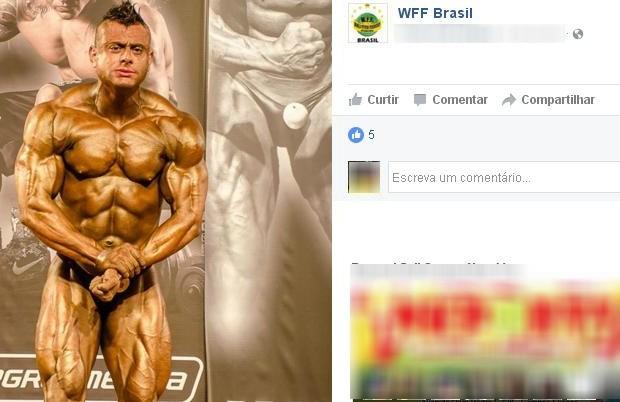 Mateus Ferraz, em foto durante um campeonato