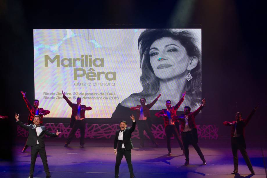 A atriz Marília Pêra foi lembrada durante a celebração (Foto: Natália Luz)