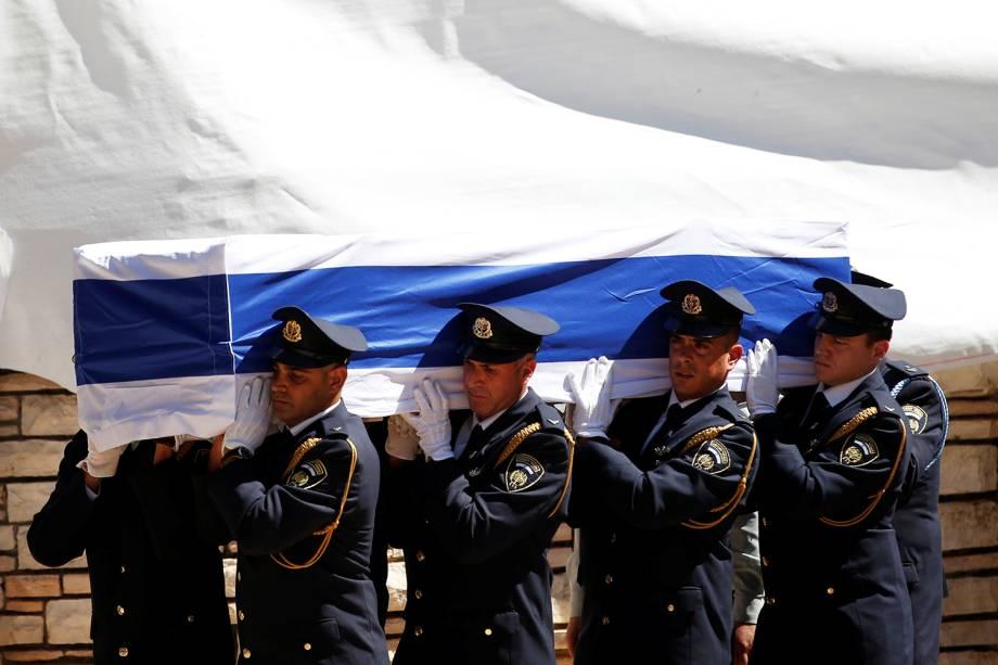 Funeral do ex-presidente de Israel, Shimon Peres - 30/09/2016