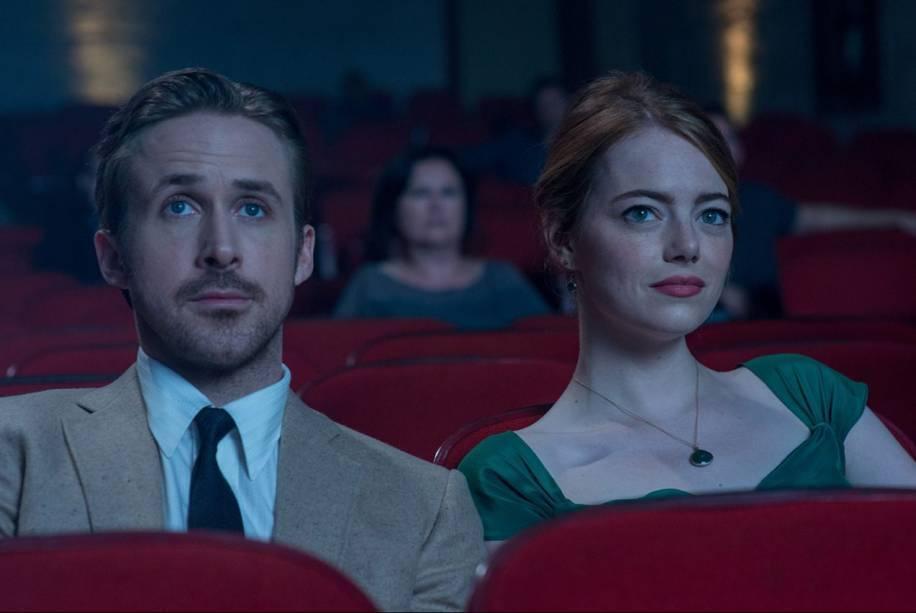 Ryan Gosling e Emma Stone em 'La La Land'