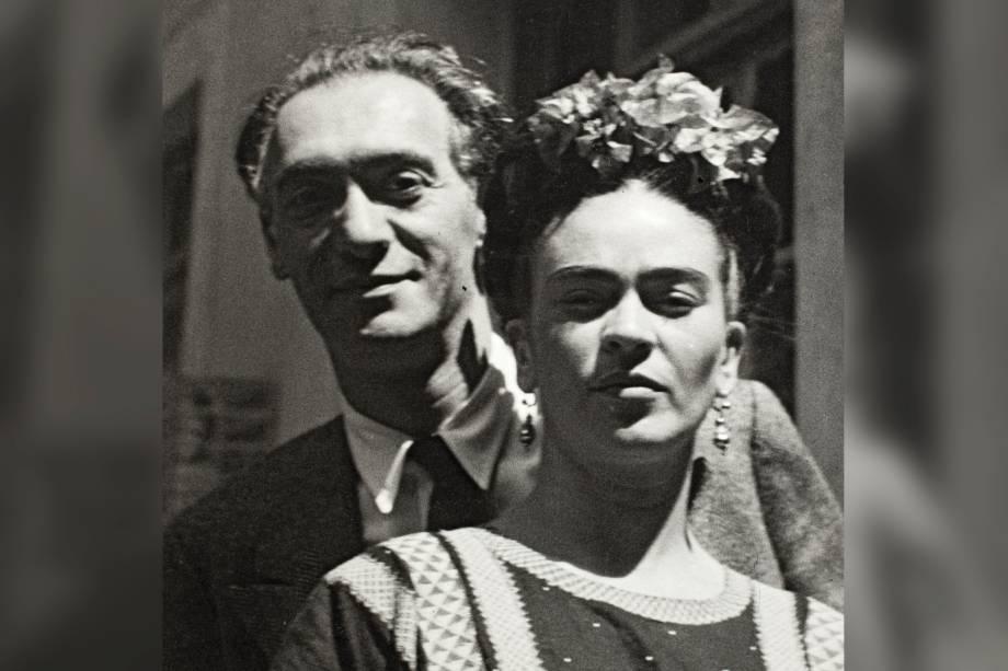 Nickolas Muray e Frida Kahlo, por Nickolas Muray, 1939