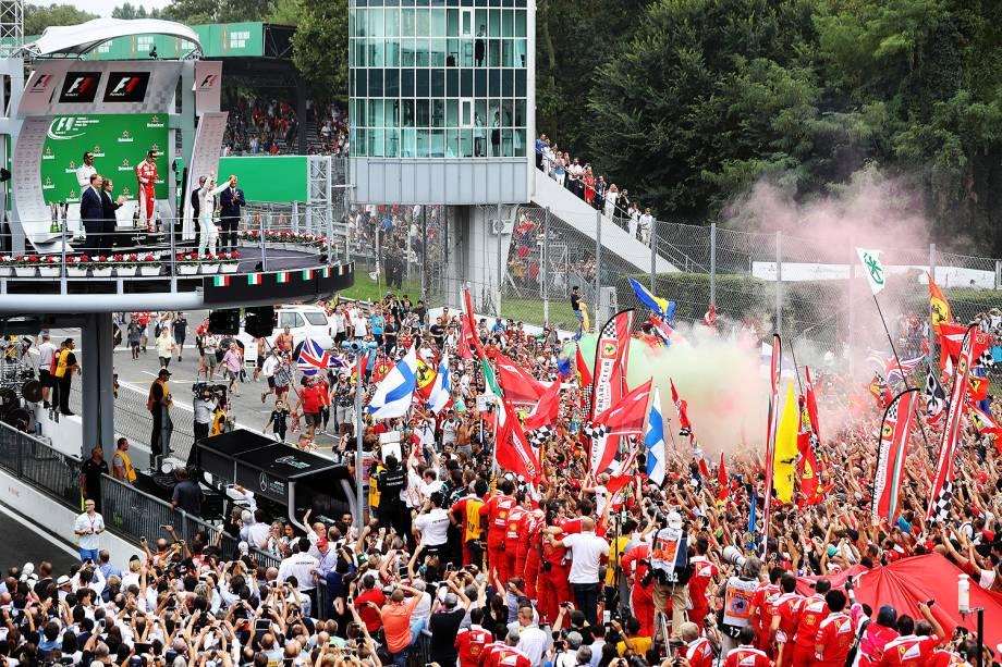 Nico Rosberg, da Mercedes, venceu o GP da Itália disputado neste domingo em Monza - 03/09/2016