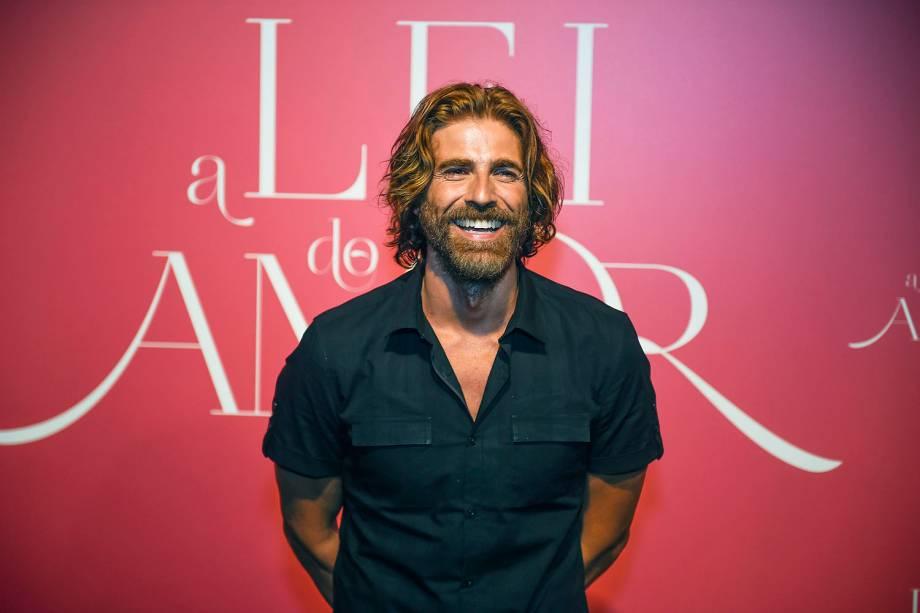 Reynaldo Gianecchini no lançamento da novela 'A Lei do Amor' - 27-09-2016