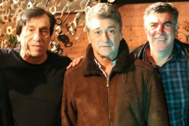 Roberto Rojas, Darío Pereyra e Zetti
