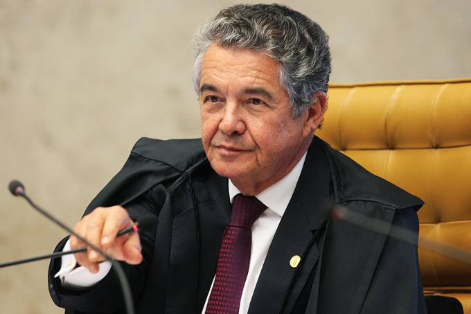 O Ministro Marco Aurélio do Supremo Tribunal Federal (STF)