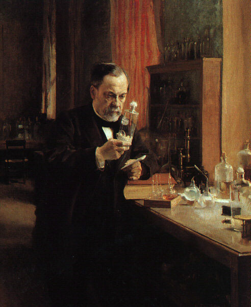 O cientista francês Louis Pasteur