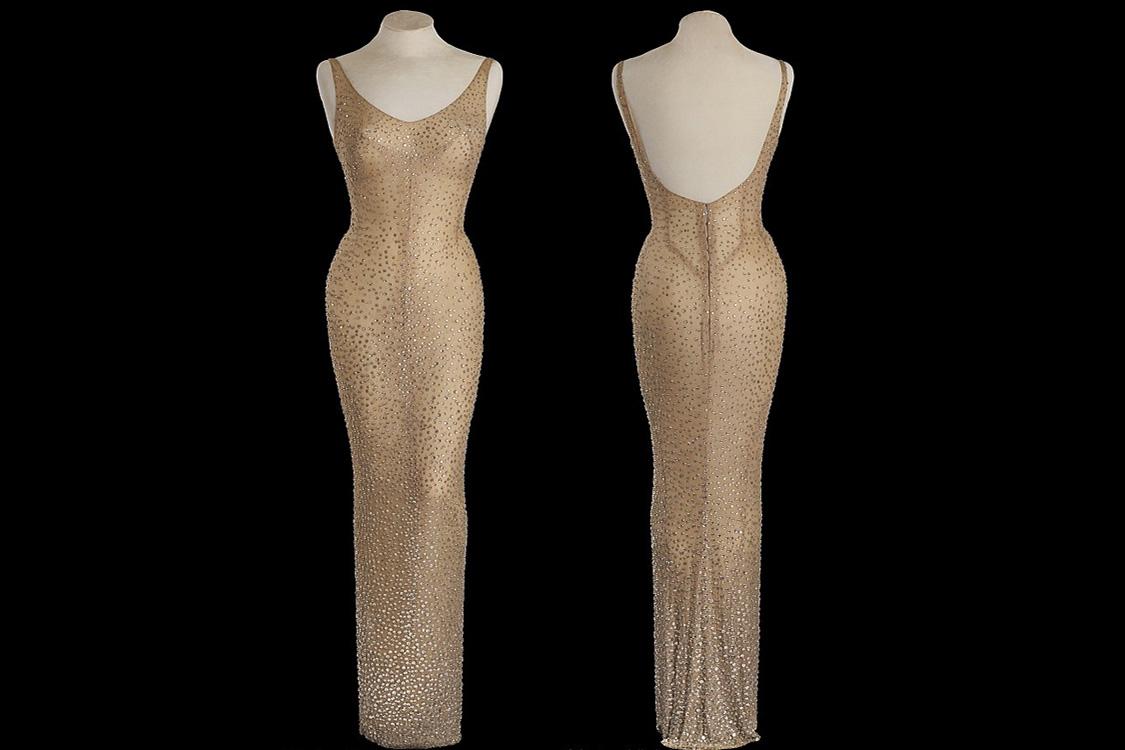 Vestido usado por Marilyn Monroe