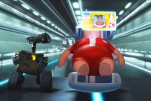 Cena do filme 'WALL-E'