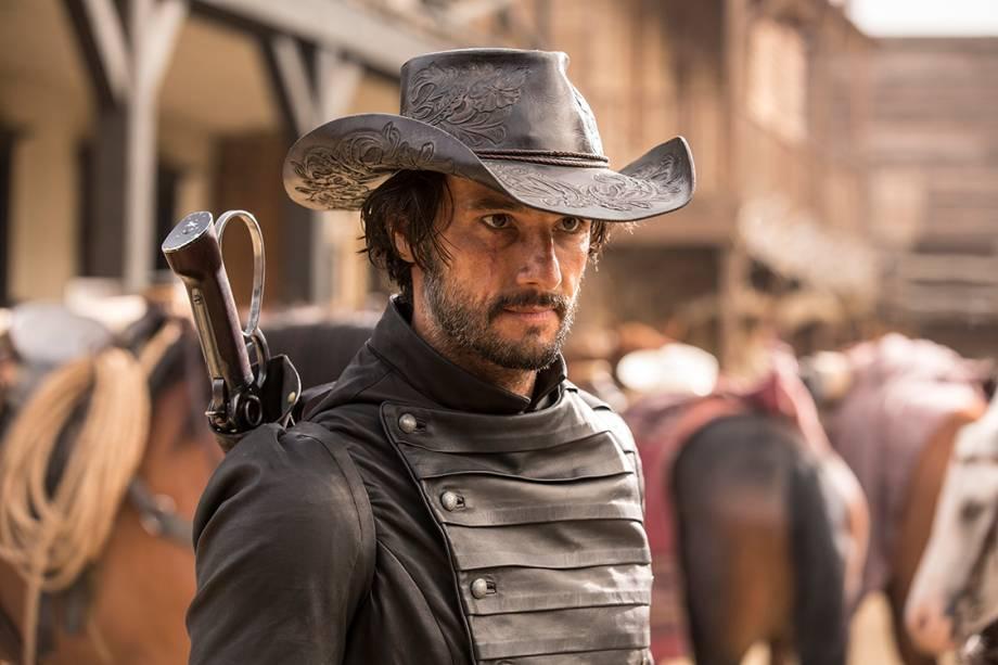 O ator Rodrigo Santoro interpreta o vilão Hector na série da HBO 'Westworld'