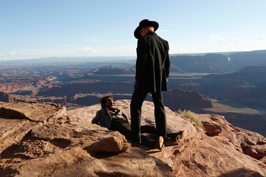Cena da série da HBO 'Westworld'