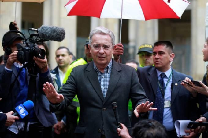 Ex-presidente colombiano, Álvaro Uribe