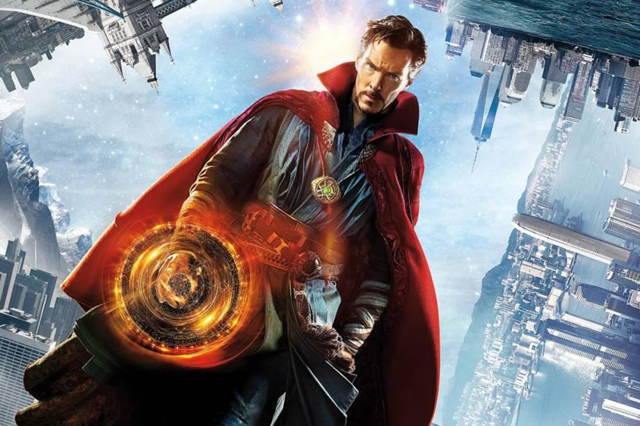 Detalhe do cartaz do filme 'Doutor Estranho'