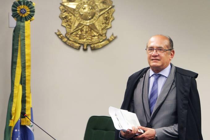 O ministro Gilmar Mendes