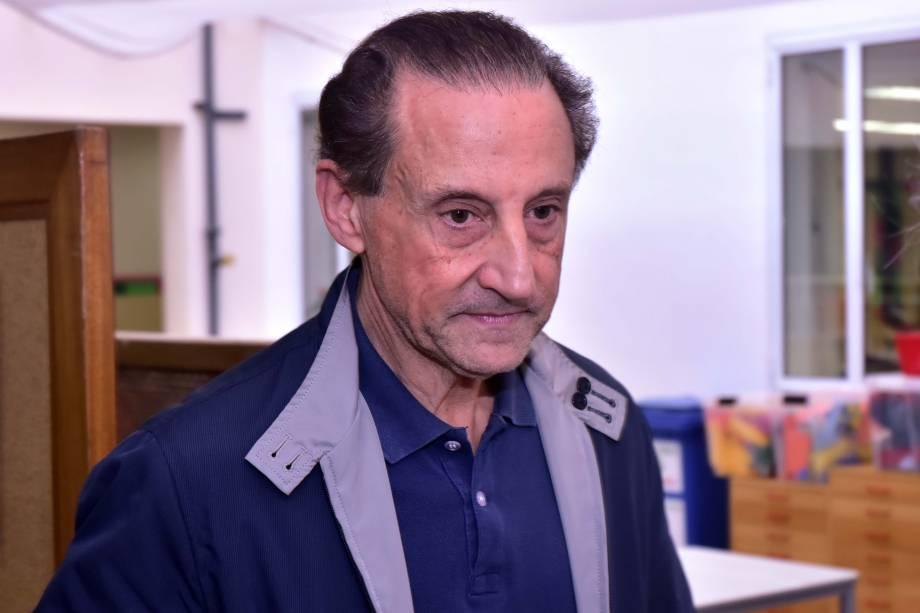 Paulo Skaf, presidente da FIESP, vota no bairro Jardim Paulistano, zona sul de São Paulo
