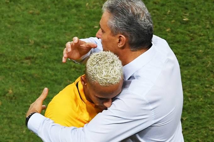 Eliminatórias sul-americanas: Brasil x Bolívia – Neymar e Tite