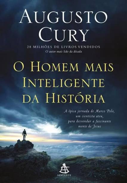 A capa de 'O Homem Mais Inteligente da História', lançado pela Sextante
