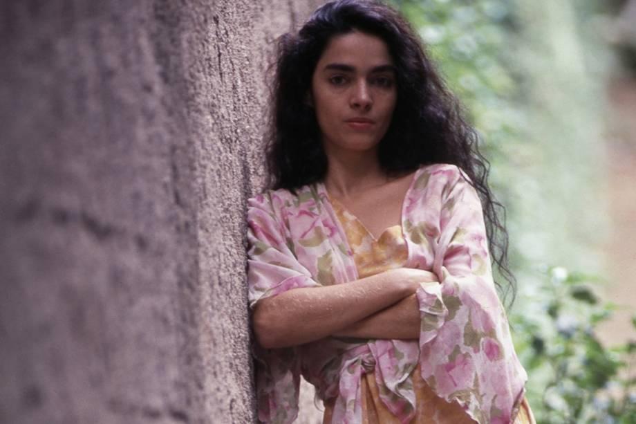 Claudia Ohana na novela 'Tieta'