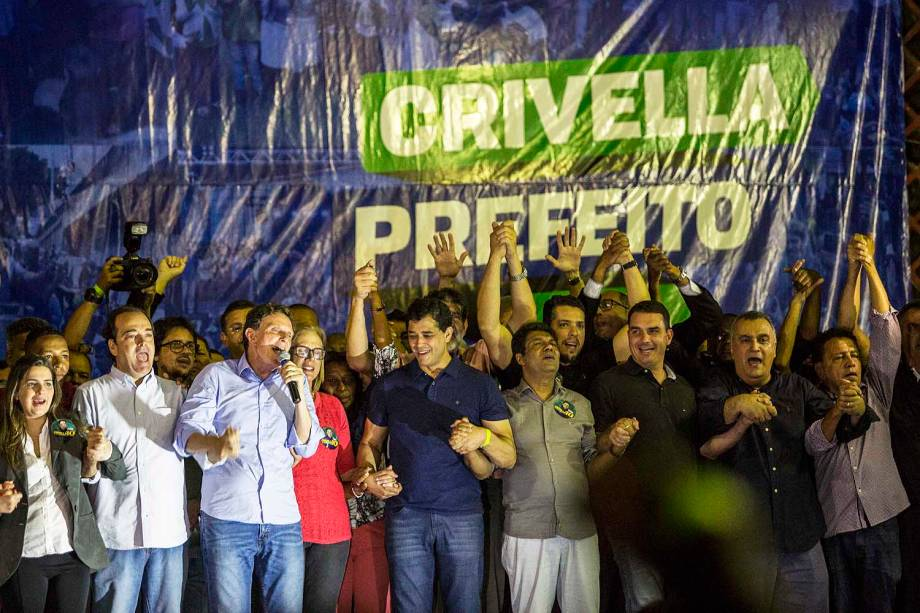 Marcelo Crivella (PRB) vence as eleições no Rio de Janeiro - 30-10-2016