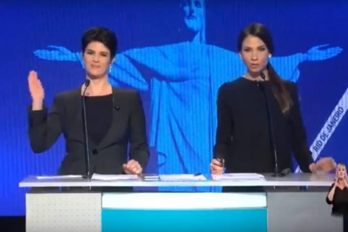 Mariana Godoy no debate do Rio 2016