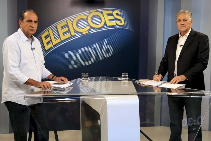 João Leite (PSDB) e Alexandre Kalil (PHS) se enfrentam no debate da Globo