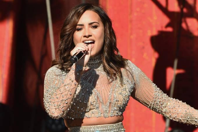 Demi Lovato se apresenta no Global Citizen Festival, no Central Park