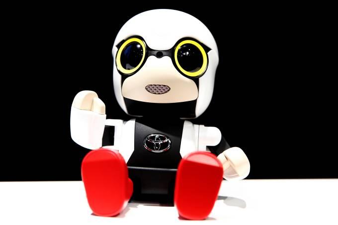 Mini robô Kirobo da Toyota
