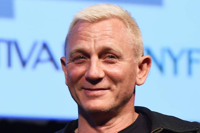 O ator inglês Daniel Craig