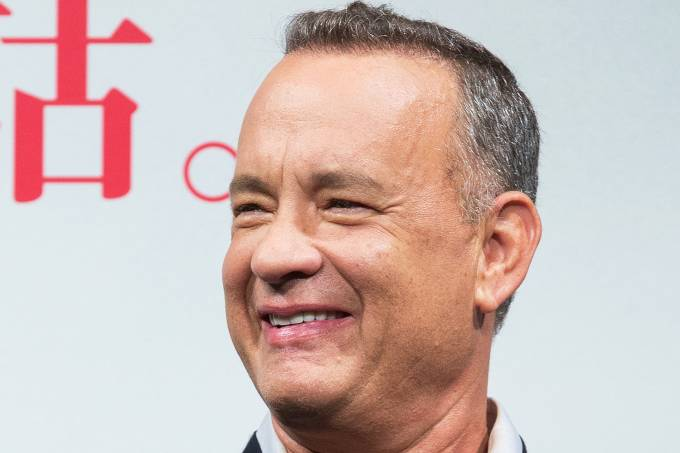 O ator Tom Hanks