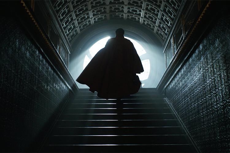 Cena do filme 'Doutor Estranho'