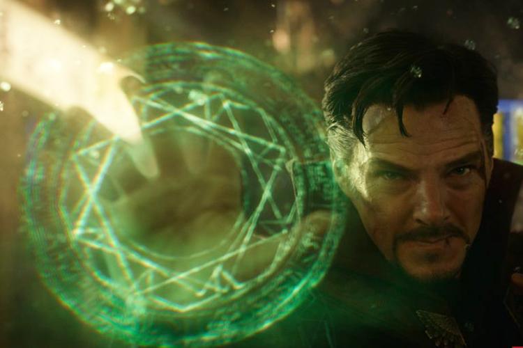 Benedict Cumberbatch na pele deDr. Stepher Strange, no filme da Marvel 'Doutor Estranho'