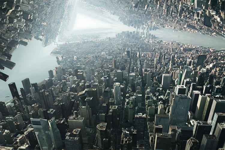 Cena do filme 'Doutor Estranho', da Marvel