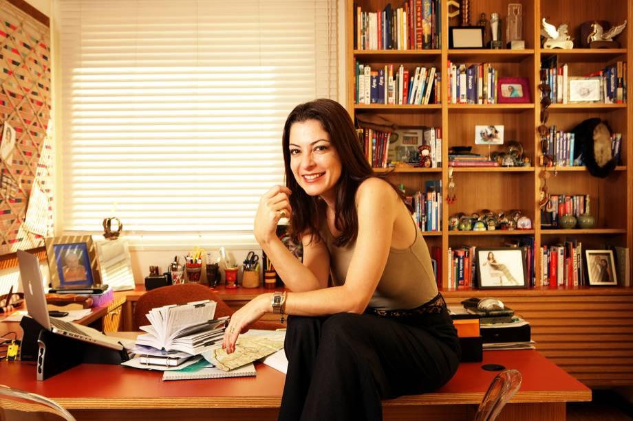 A jornalista Ana Paula Padrão - 19/06/2009
