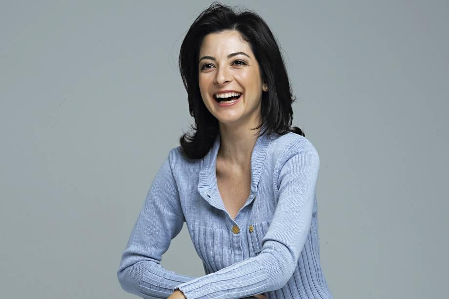 A jornalista Ana Paula Padrão  - 2005
