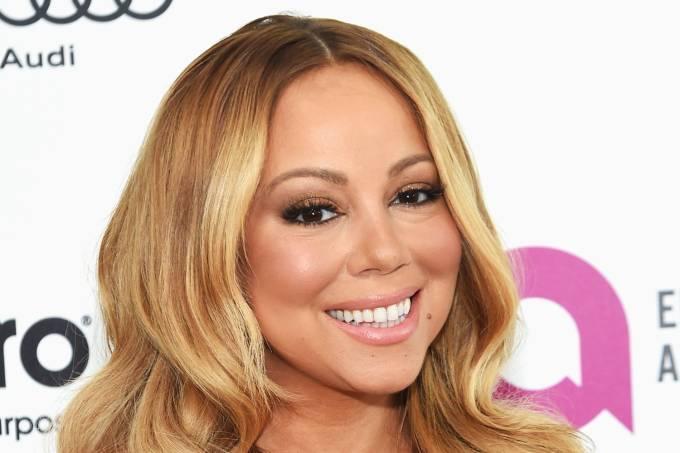 A cantora americana Mariah Carey